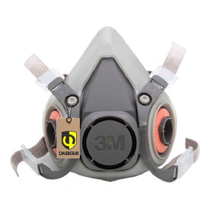 3m 3m®respirador 6200 Mediacara Serie Respirador